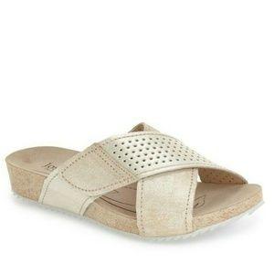 Josef Seibel Angie Sandals Sz 7-7.5 Slide Comfort